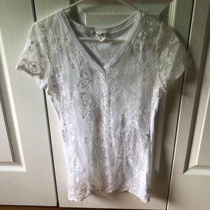 Aeropostale Lace Shirt!